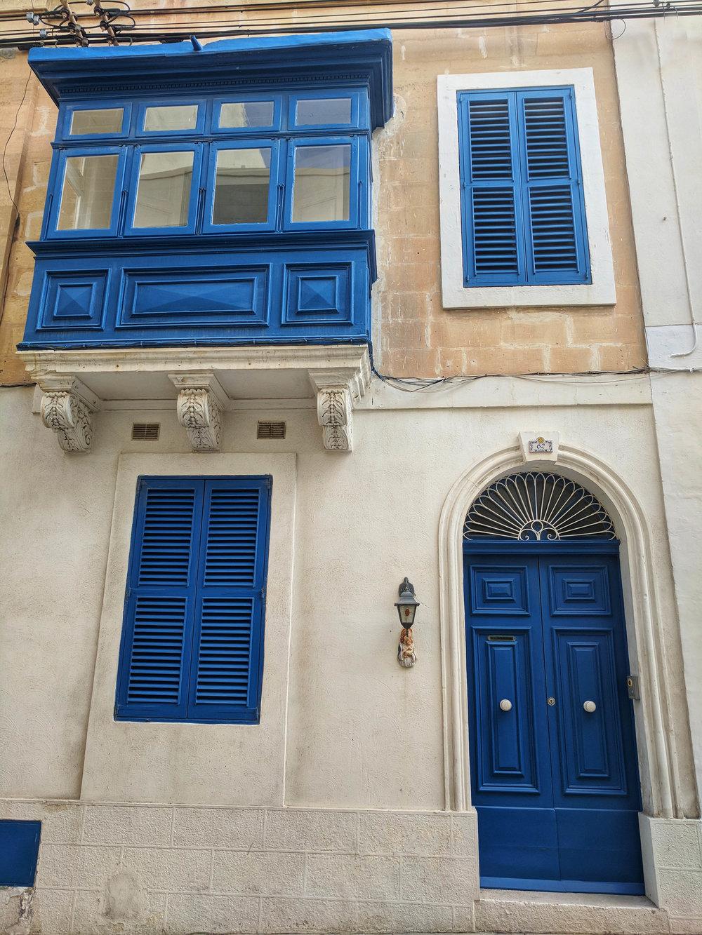 Blue door Sliema, Malta.jpg