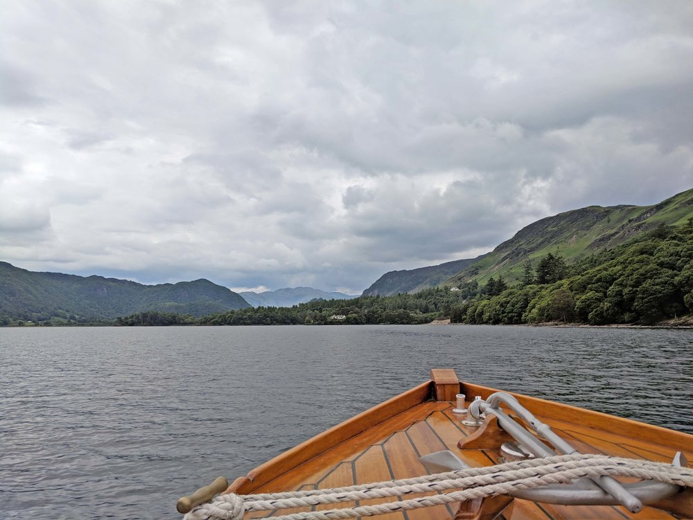 Seeing Derwentwater by boat