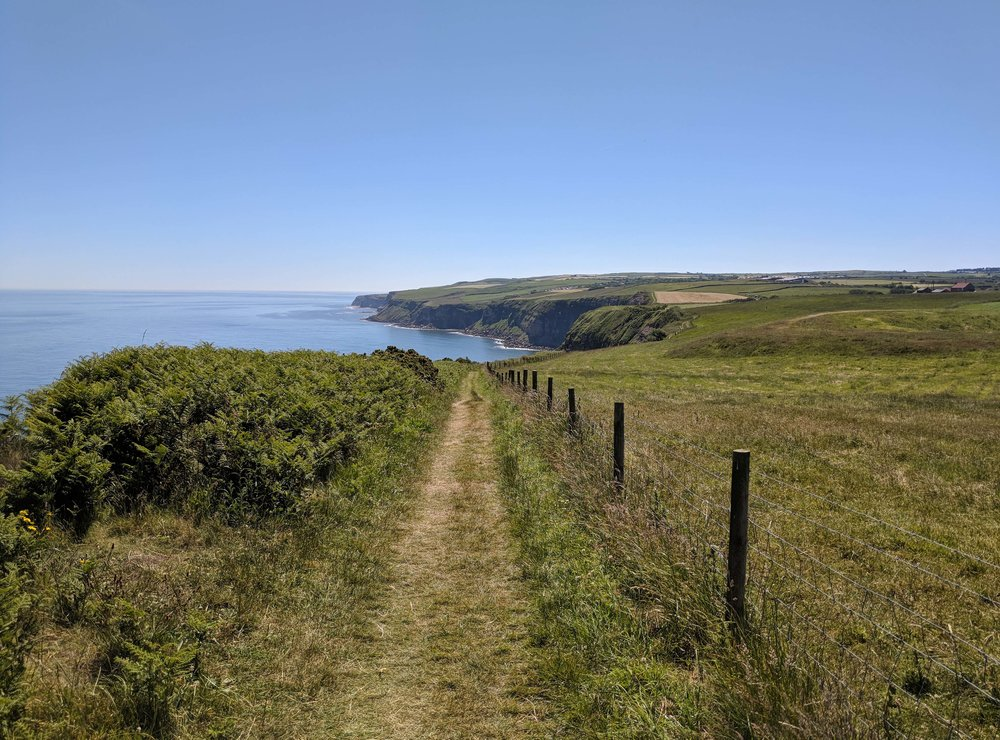 The views along the Cleveland Way
