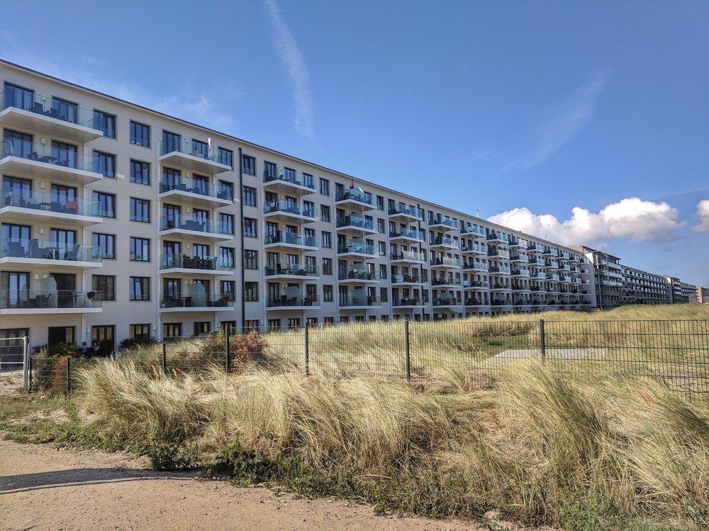 Former Nazi resort now luxury apartments!