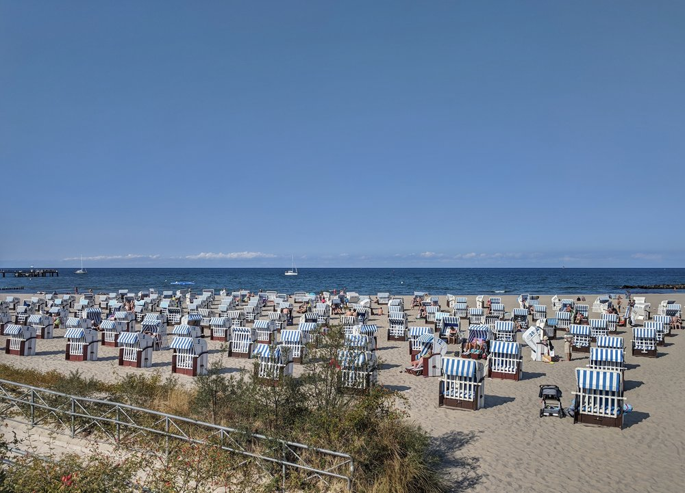 Strandkorbe beach chairs
