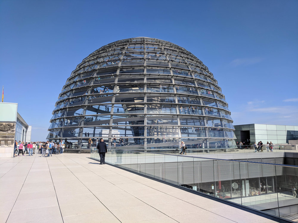 The Bundestag dome