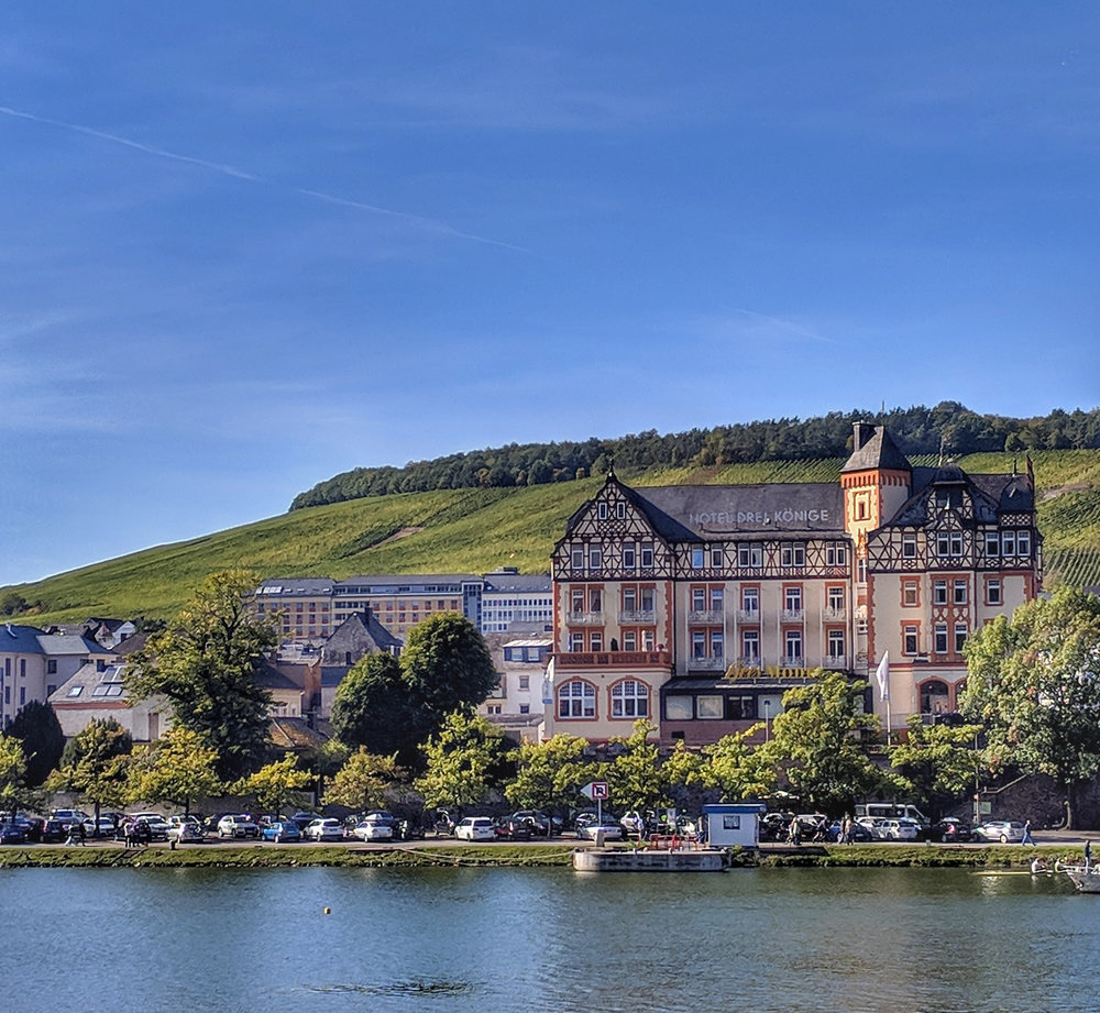 Bernkastel-Kues is one of the main stops along the route and well worth a stop