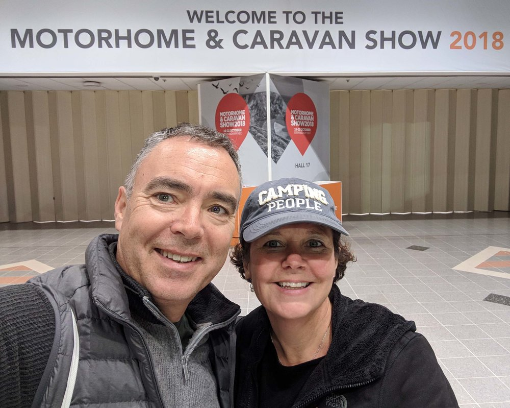 Lots to see at the Motorhome Show