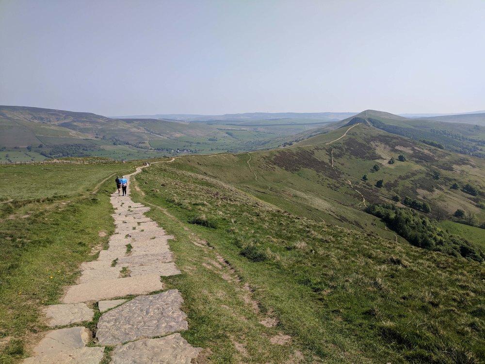 Beautiful hiking in the Peak District