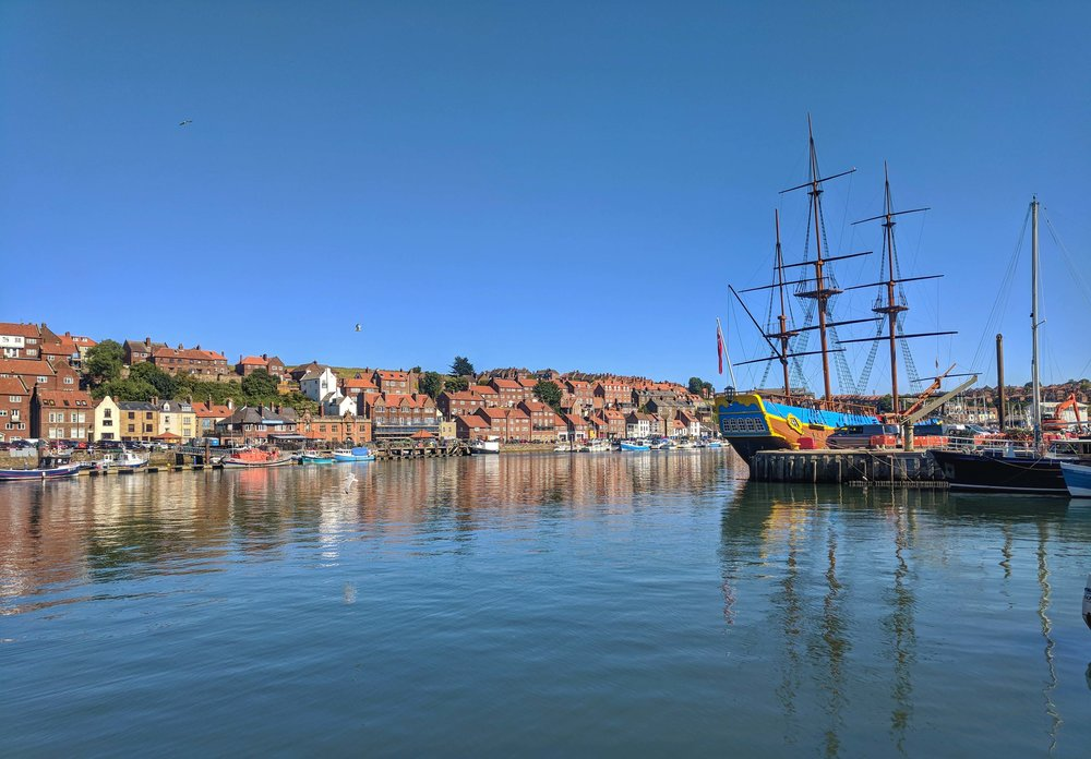 Pretty town of Whitby