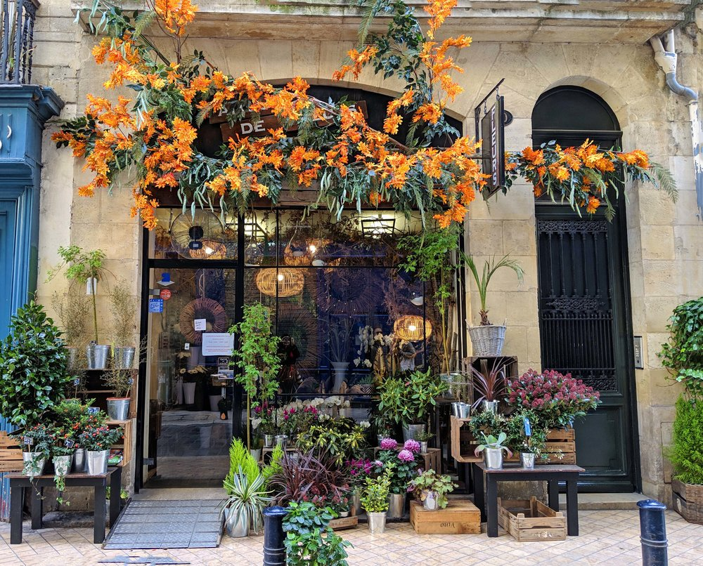 Beautiful shopfront in Bordeaux