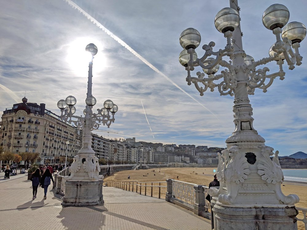 Magnificent San Sebastian waterfront