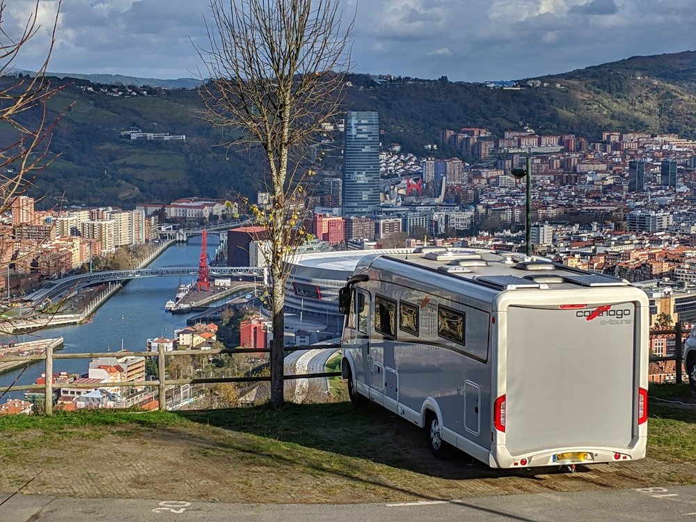 Our wonderful spot in Bilbao