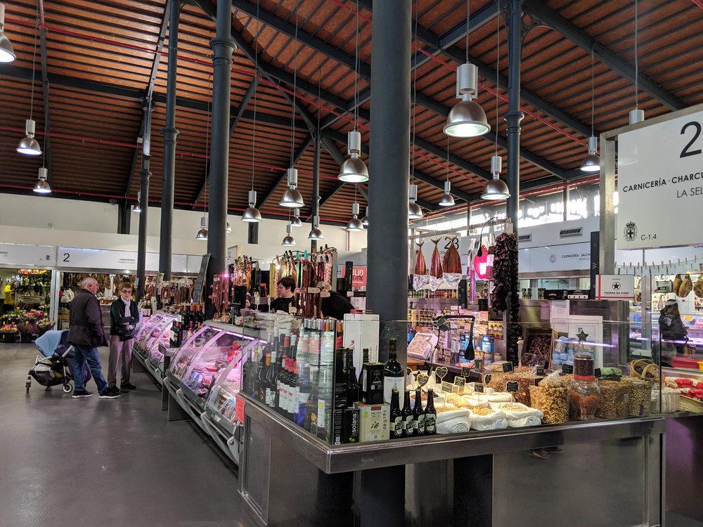 Almeria has a lovely clean and modern mercado