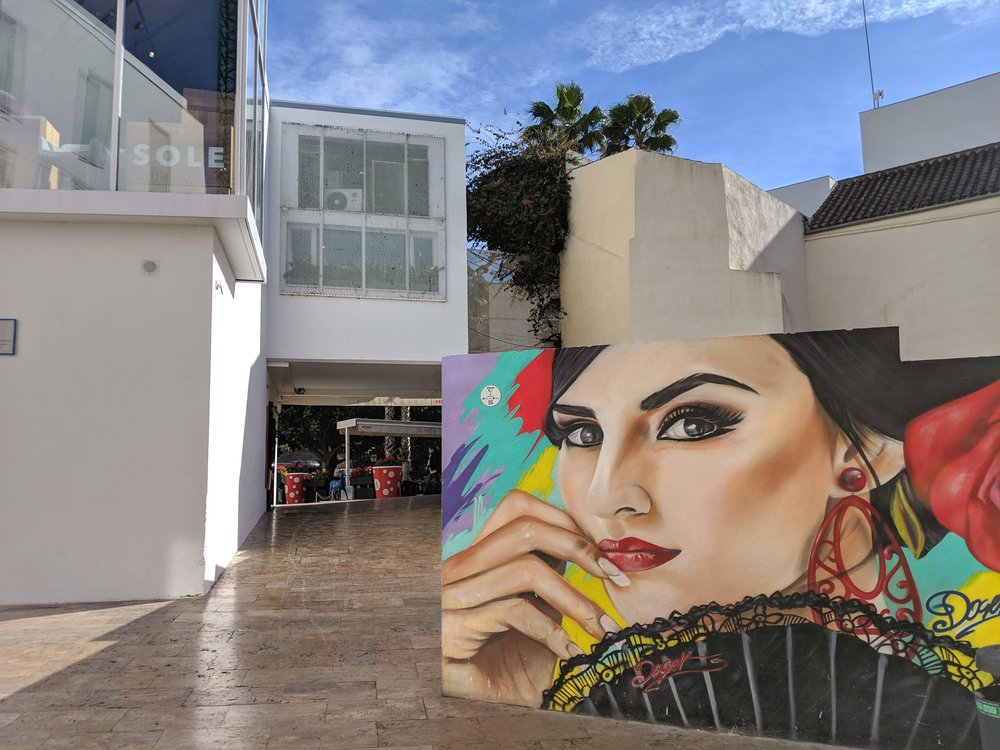 The modern mixes with the historic in Malaga