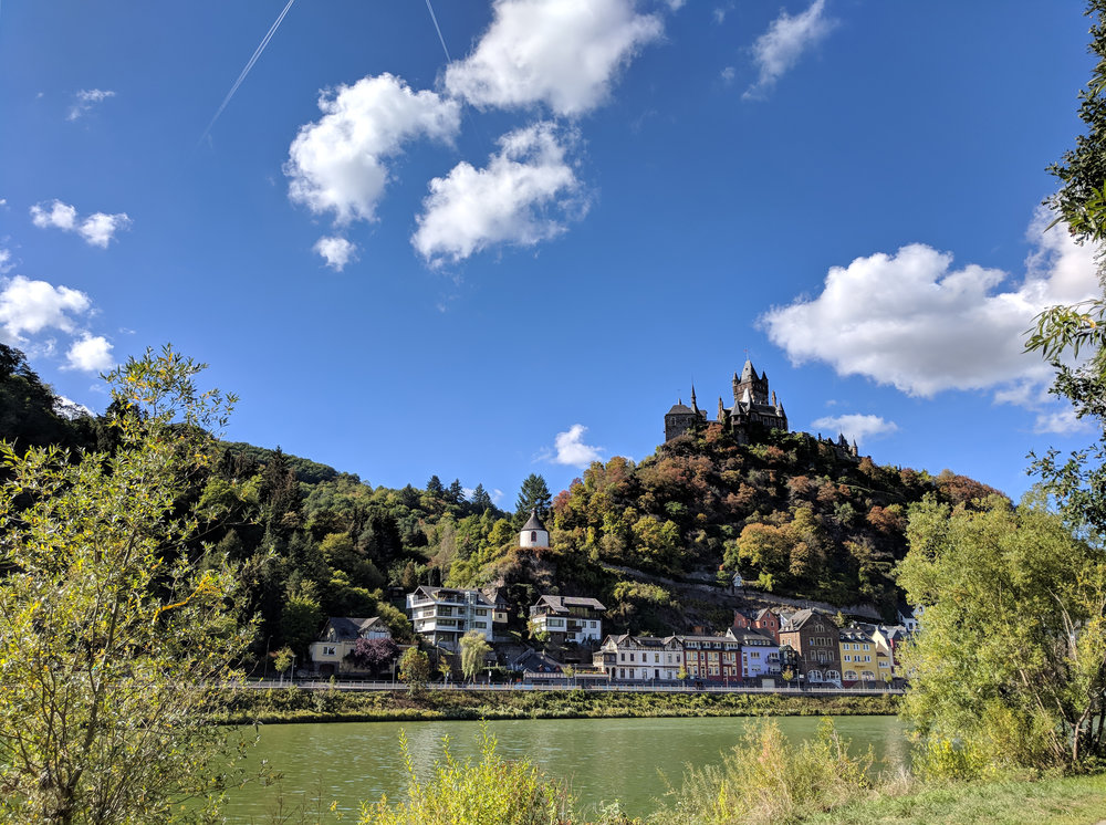 The oh so scenic Moselle Valley