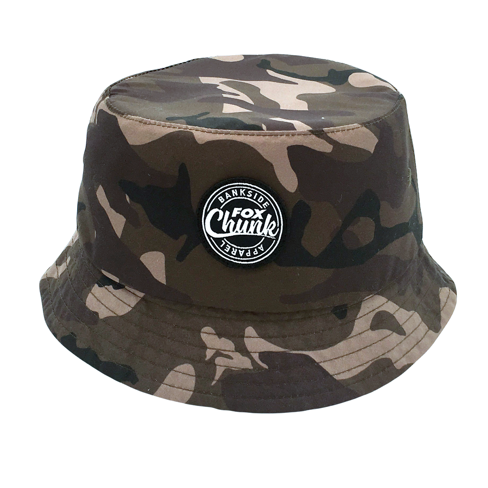 Custom Embroidery Patch Camouflage Bucket Hat