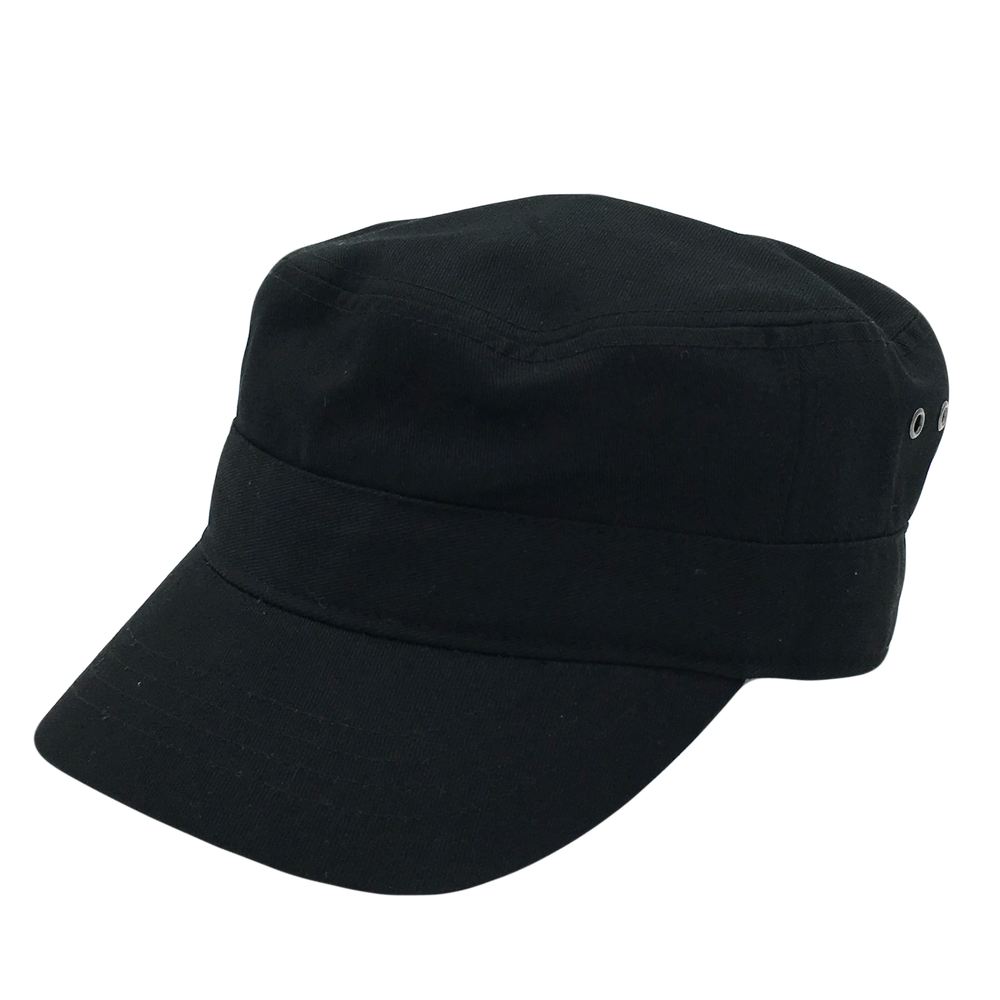 Custom Premium Black Army Hat