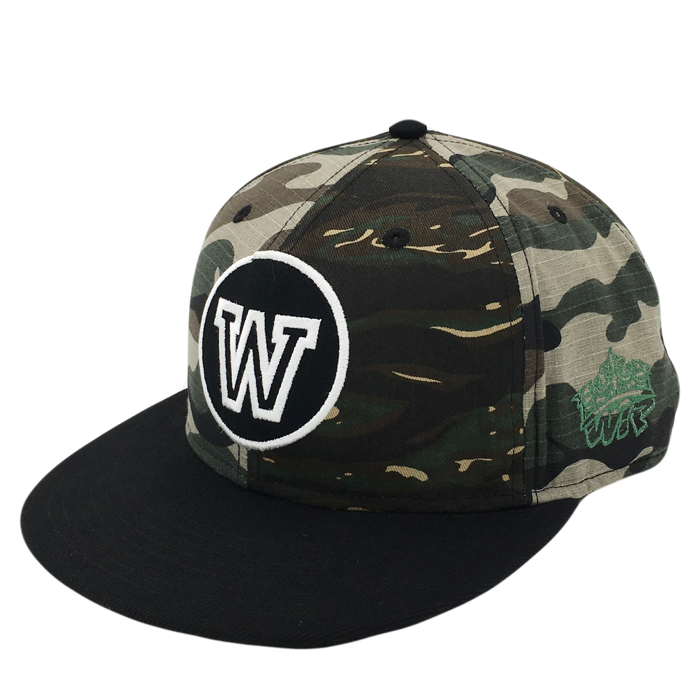 Custom Embroidery Patch 6 Panel Snapback