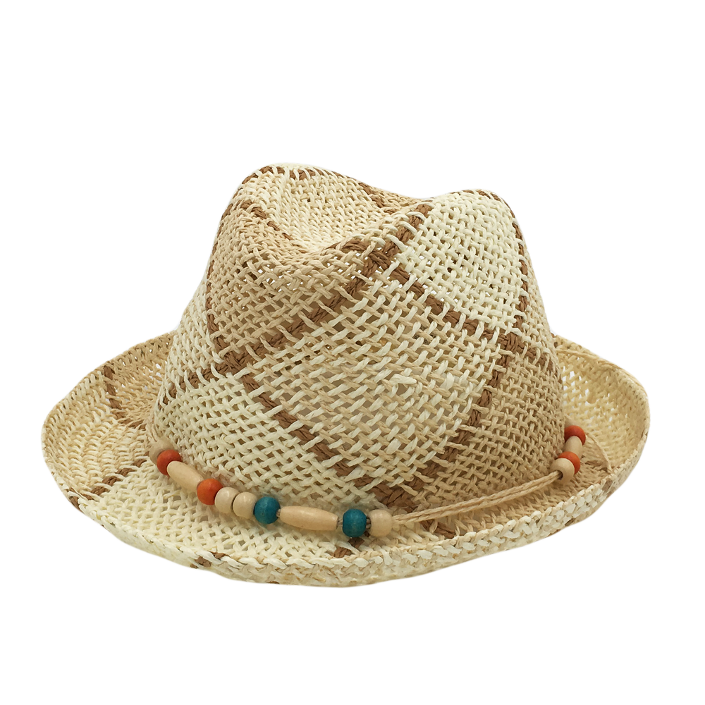 Custom Patterned Straw Hat