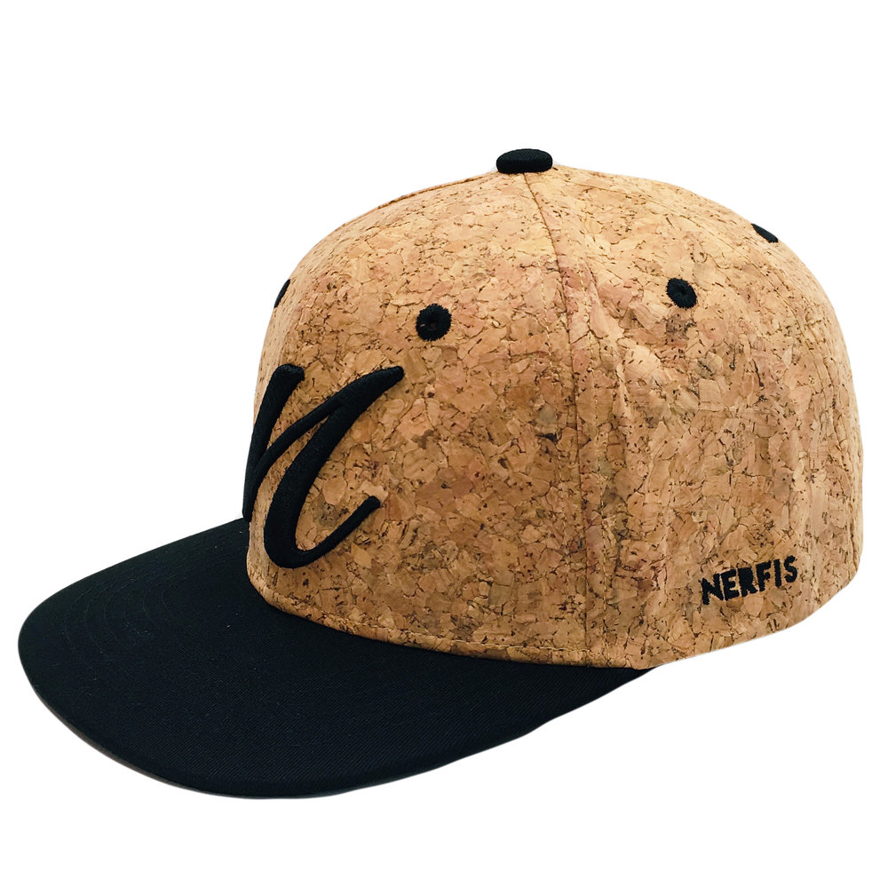 Custom Cork Design Snapback