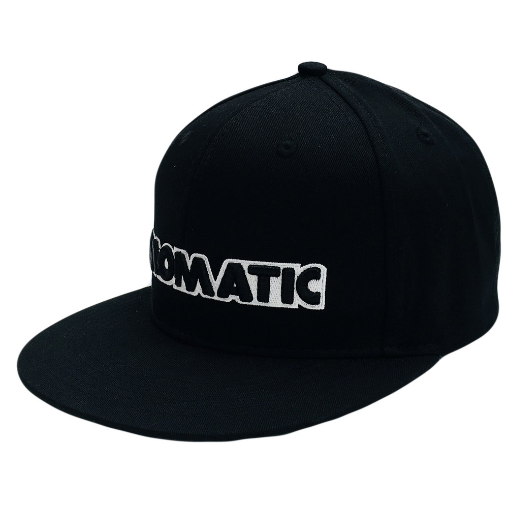 Structured Crown 3D Embroidery Snapback