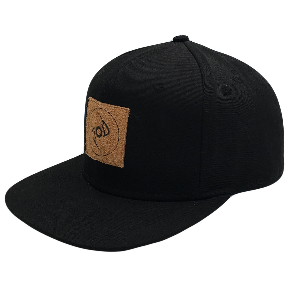 Custom Leather Logo Patch Snapback