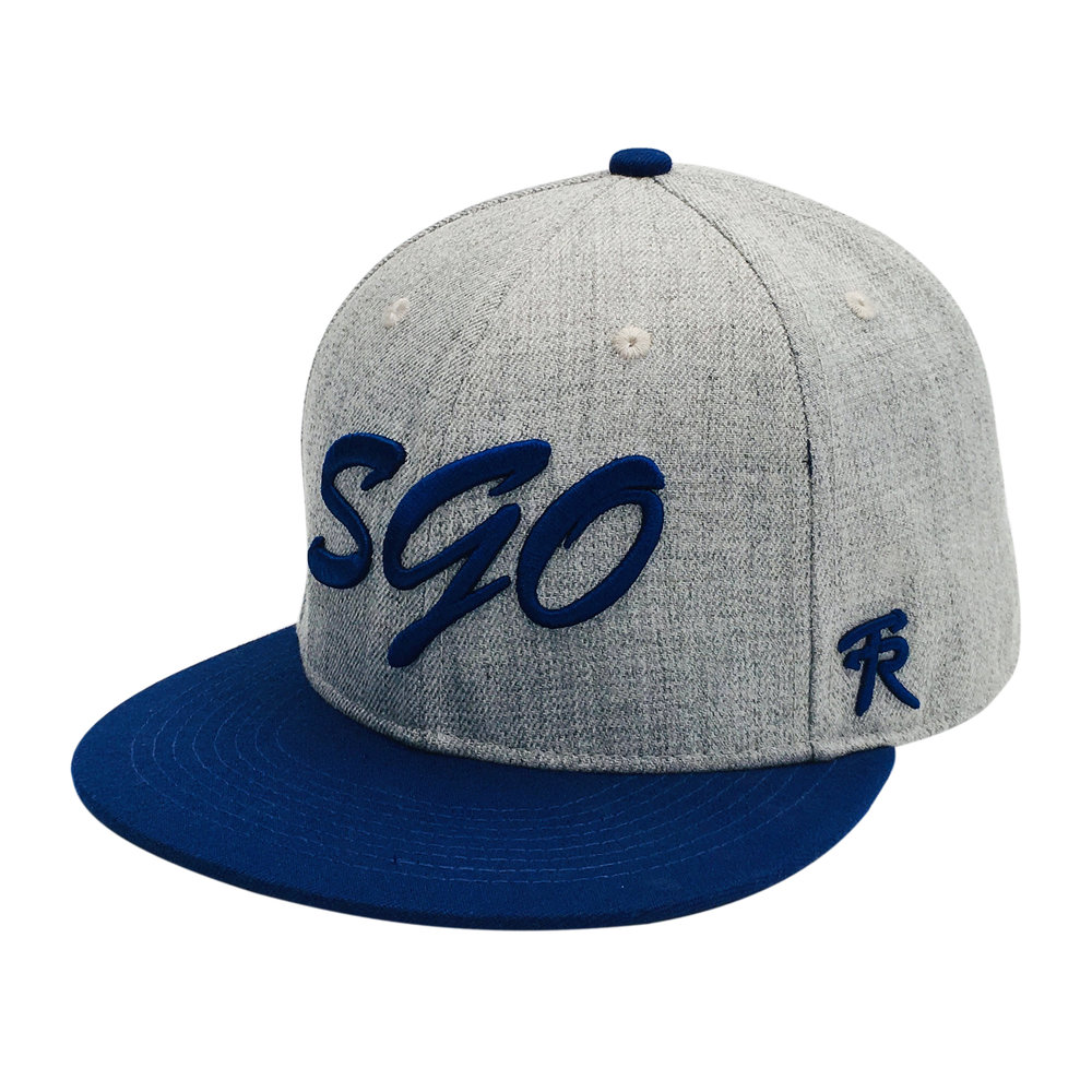 Custom 3D Embroidery 6 Panel Snapback