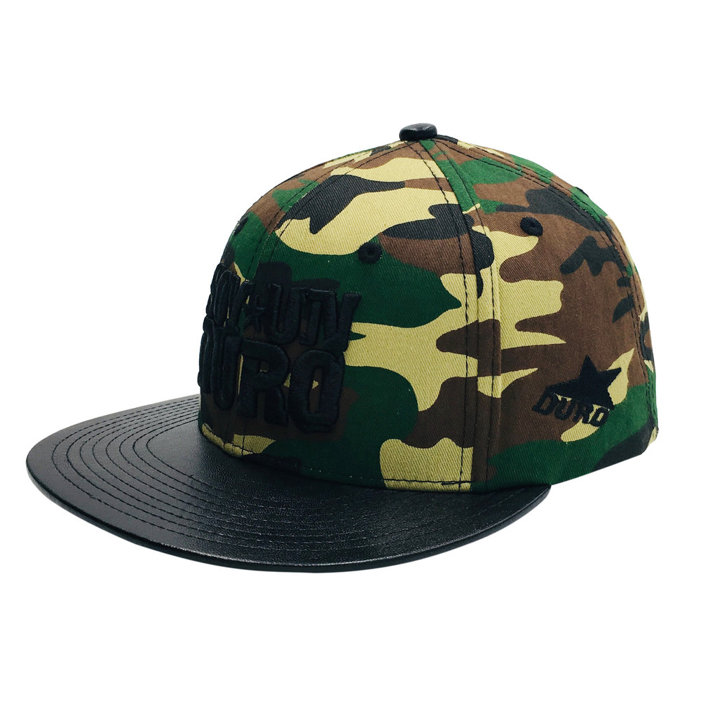 Custom Hip-hop Fashion Design 6 Panel Snapback
