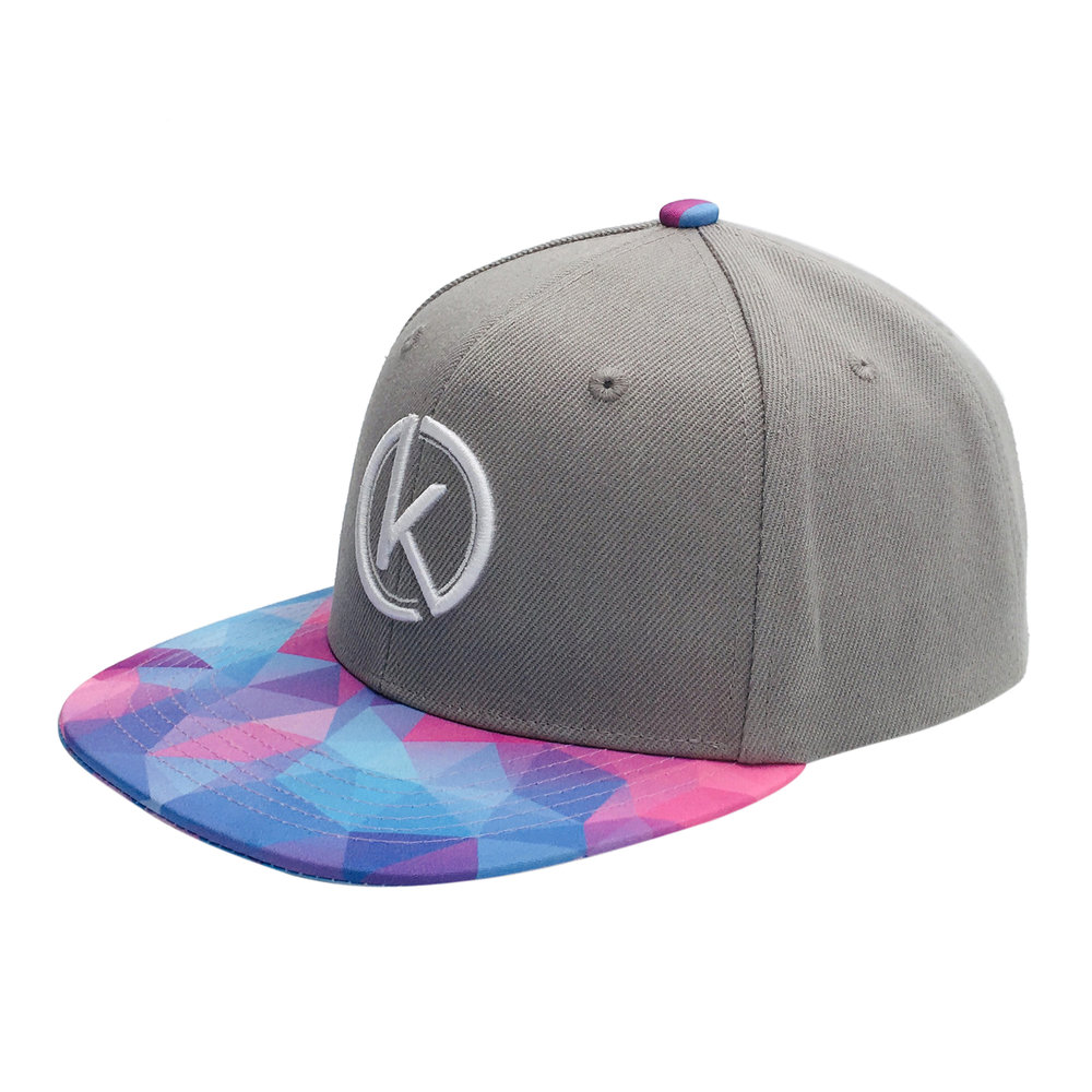 Custom Streetwear 3D Embroidery 6 Panel Snapback