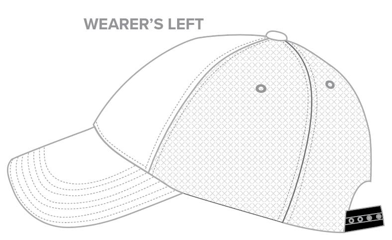 Trucker Cap Templates - 6-Panel Trucker Hats