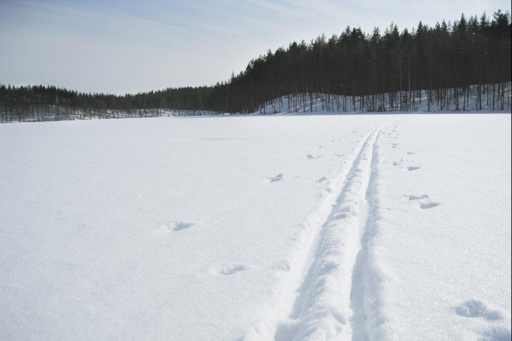 kaukopartio hengessä hiihtämään