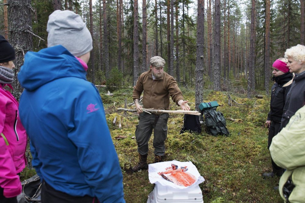 Introduction to bushcraft for women