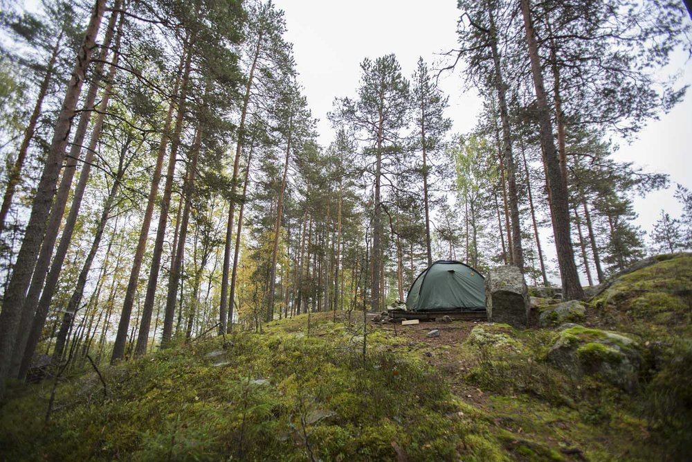 camping finland