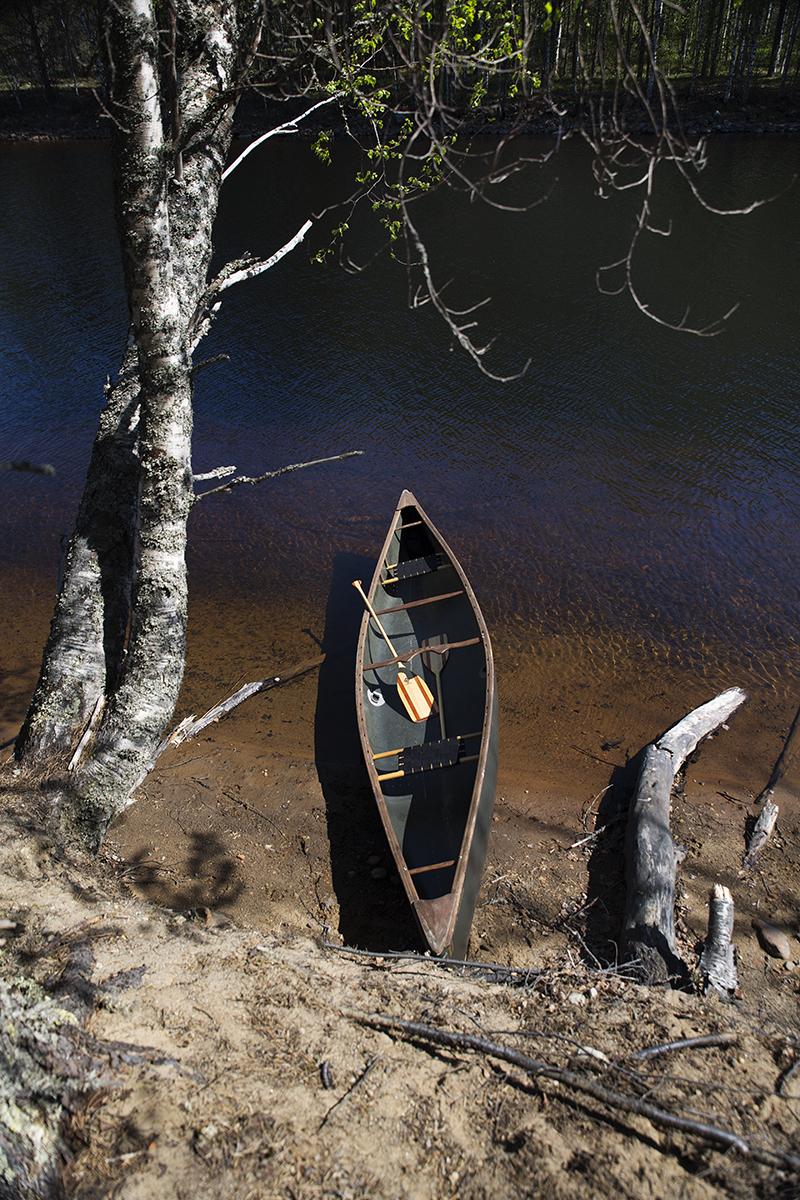 vaeltaminen kanootilla