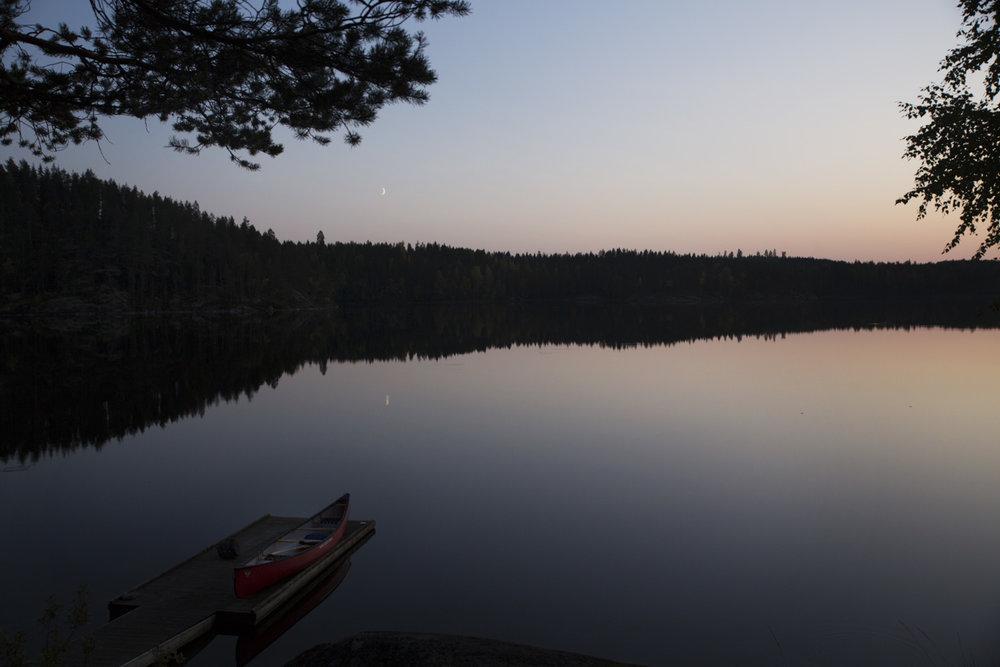 paddling finland