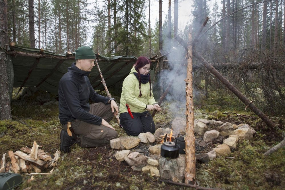 bushcraft courses finland
