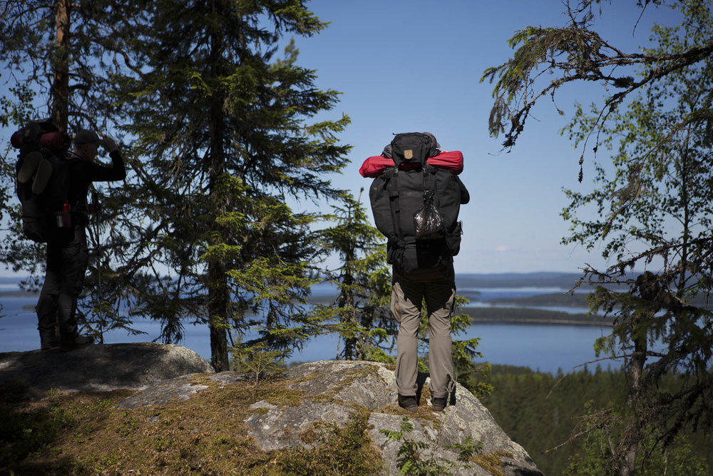 trekking in finland