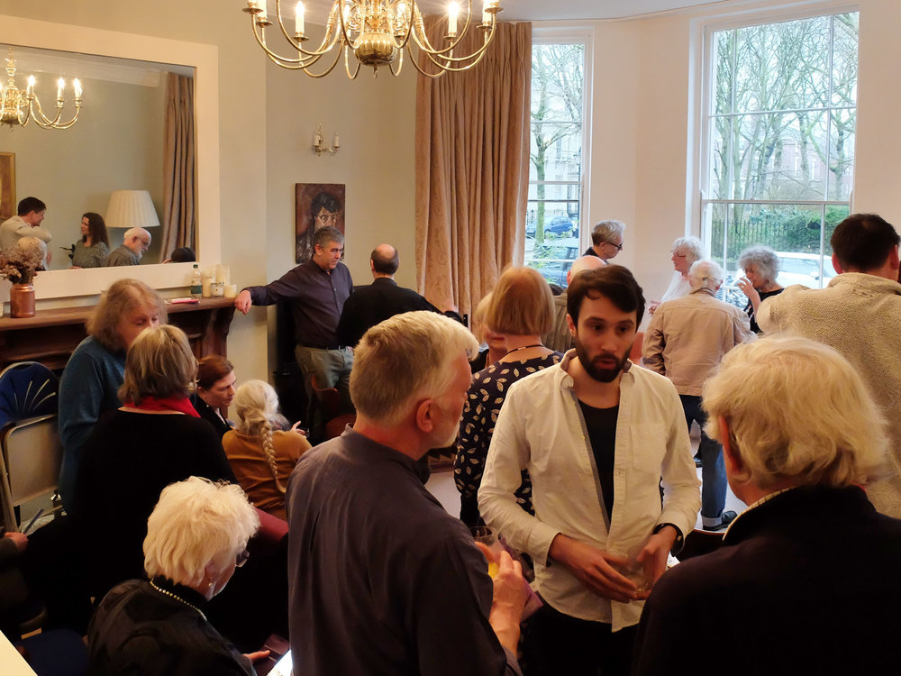 launch of Issue 3, Falkner Square