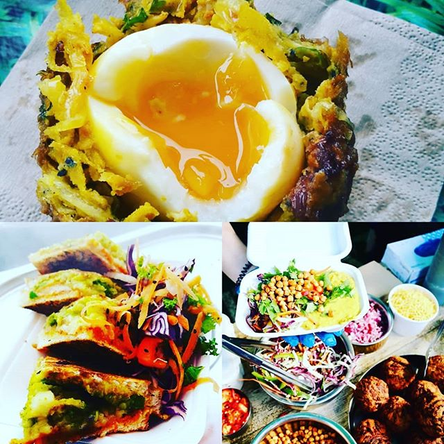 We are mega excited to be serving up our tasty wares @goodchembrew as part of @eastbrisbrew tomorrow. We will have those #onionbhajiscotcheggs Mumbai toastied, samosa chaat, buddha boxes and snacks  #eastbristolbrewerytrail #gopalscurryshack #goodchemistrybrewing #getyourcurryon #getyourbeeron #veggie #curry #vegan #bristolfoodies #bristol247
