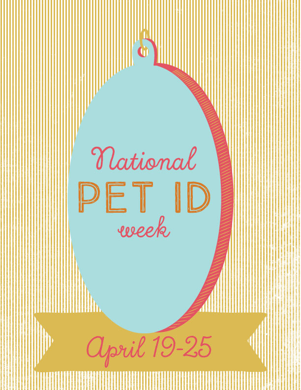 National Pet ID week graphic