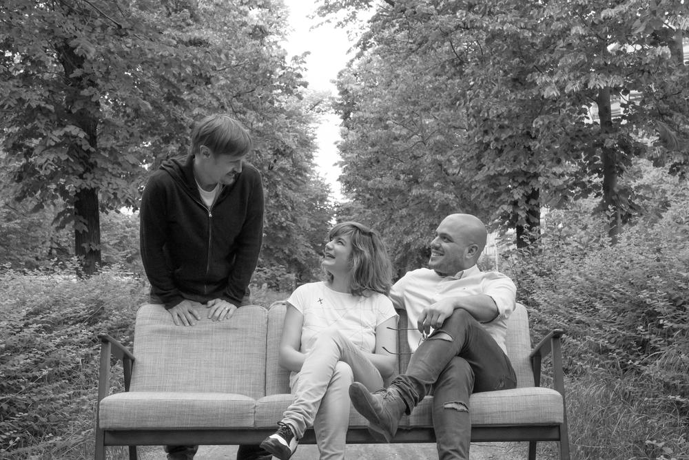 Per Zennström, Lisi Badia and Justin Merino