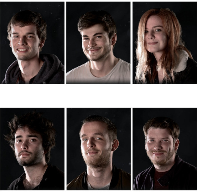 Pierre Ropars, Antonin Derory, Diane Thirault, Jérémie Cottard, Matthieu Druaud and Adrien Zumbihl  - They have graduated from Supinfocom Rubika school (Valenciennes, France) with a Master in digital director. In 2017, they co-directed the short film