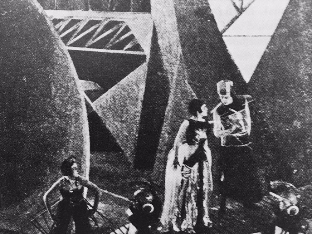 From the making of Aelita: Queen of Mars (1924)