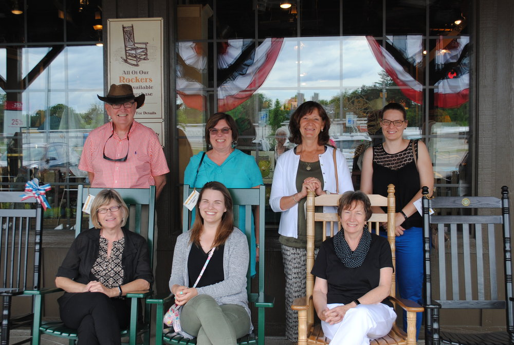 A few of the MWAHFE committee members who went to visit with Mark and Allison Karnes in Port Huron. We had a lovely chat at Cracker Barrel! What an honour to find out a little bit more about this inspiring couple.
