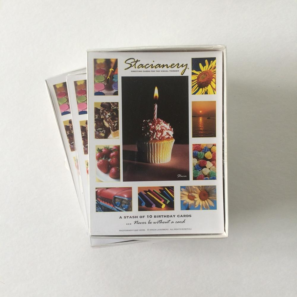 'Stash' Box of 10 Birthday Cards