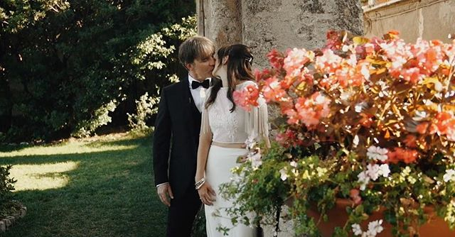 Kristin + Rob's Amalfi Coast elopement was a DREAM. Video link in profile.