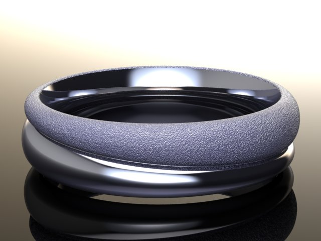mobius wedding band