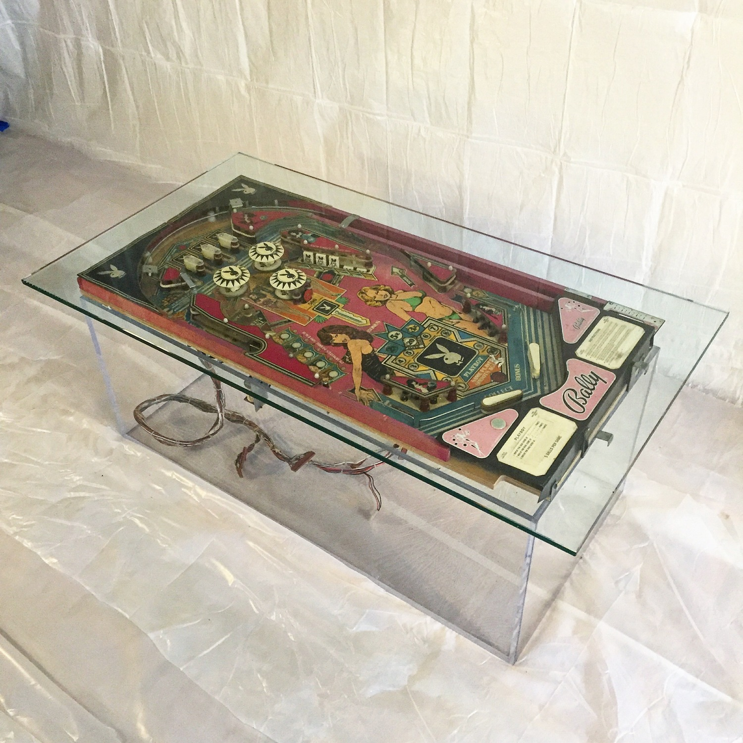 Playboy Pinball Table — By Jeff Arbour