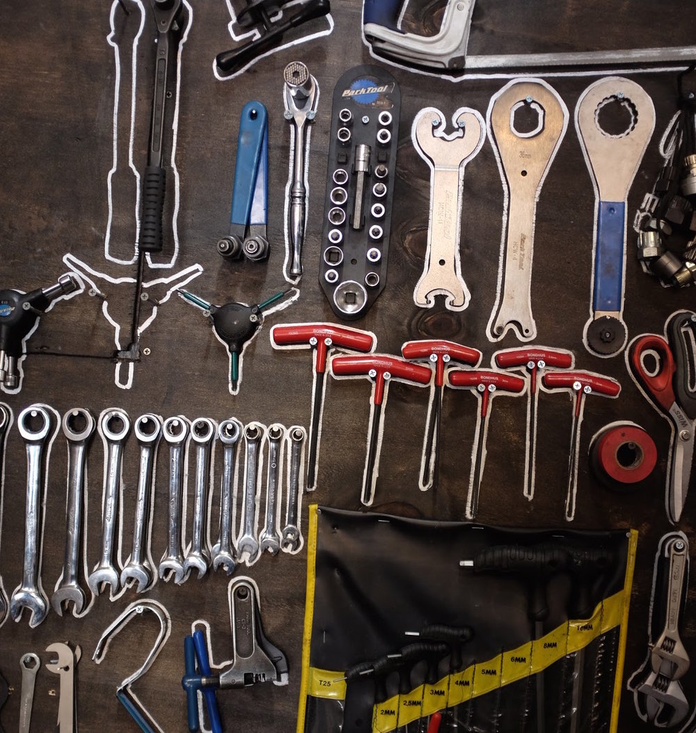 The tool wall
