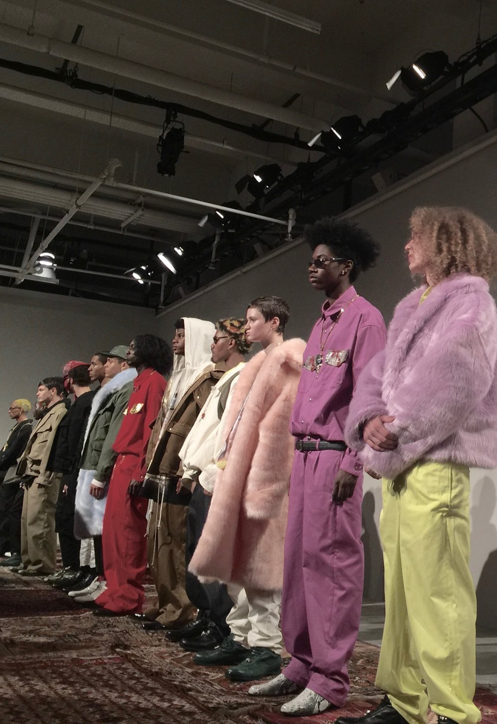 LANDLORD 2017 F/W - NYFW Men's