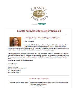 Newsletter Volume 6
