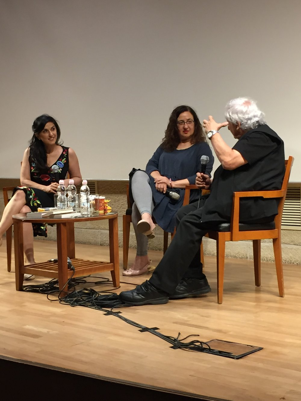A.B. Yehoshua in conversation with Dorit Rabinyan chaired by Bilhah Ben Eliyahu, to mark 40 years of the publication of The Lover by A.B. Yehoshua and on All the Rivers by Dorit Rabinyan.