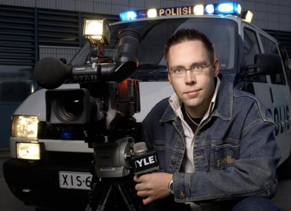 Juontajana Poliisi-tv:llä